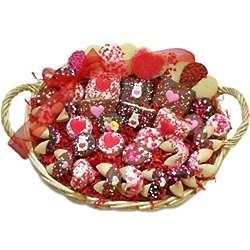 Valentine's Day Super-Sized Cookie Gift Basket
