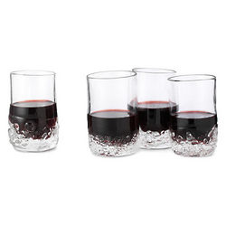 On the Rocks Wine Glasses