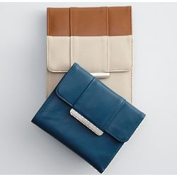 Ivory Leather Wallet