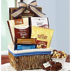 Sweet Indulgence Gourmet Snack Basket