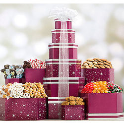 Winter Starlight Gift Tower