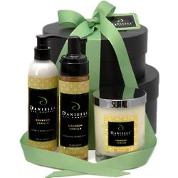 Happy Holidays Organic Holiday Gift Basket