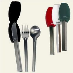 Stainless Steel Portable Knife, Spoon and Fork Set