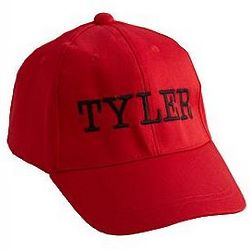 Personalized Kid's Colored Baseball Cap