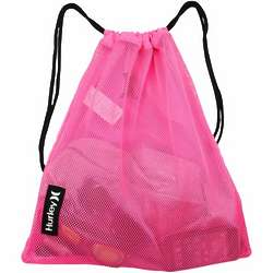 Neon Pink One Only Mesh Sack