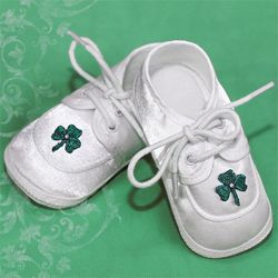 Boy's Shamrock Baptism Shoes