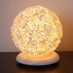 Rosa Shells Accent Lamp