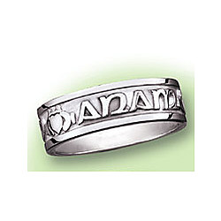 Women's Mo Anam Cara - My Soul Mate Silver Ring