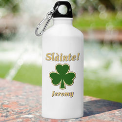 Personalized Classic Clover Water Bottle