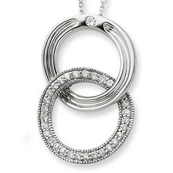 Sterling Silver You Complete Me Necklace