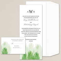 Palm Tree Passion Wedding Invitations