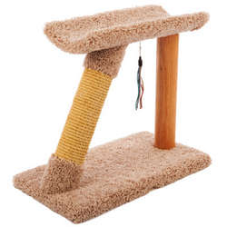 Half Moon Sisal Cat Scratching Post