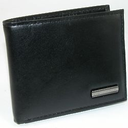 Top Grain Polished Leather Passcase Wallet