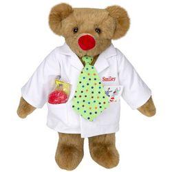 """15"""" Clown Care Teddy Bear"""