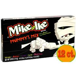 Mike and Ike Mummy's Mix Halloween Theater Size Candy