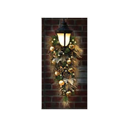 St. John's Wood Golden Holiday Trim Golden Teardrop Hanging