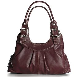 Kendall Faux Leather Satchel