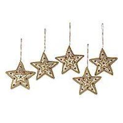 Beadwork Star Ornaments