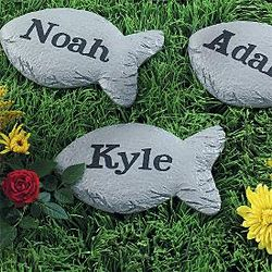 Personalized Small Fish Stepping Stone