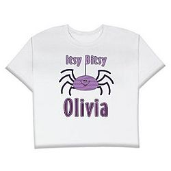 Personalized Itsy Bitsy Spider T-Shirt