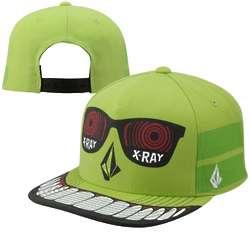 Strange Lime Adjustable Snapback Hat