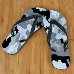 Snow Camo Beacher Sandals