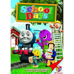 Barney and Friends School Days DVD