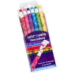 Unravels Tear and Share Crayons