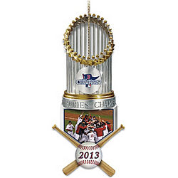 Red Sox 2013 World Series Champions Ornament