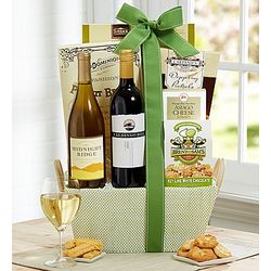 Thoughts of Spring Wine and Gourmet Gift Basket