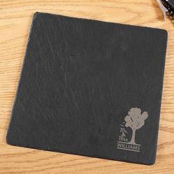 Timeless Tree Engraved Slate Cheese Board