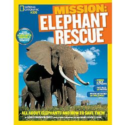 Mission Elephant Rescue Kids' Book