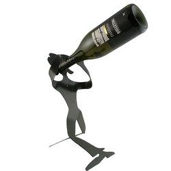 Standing Girl Wine Holder