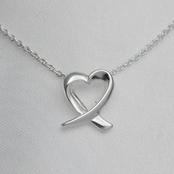 Tiffany Inspired Heart Necklace