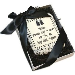 Will You Be My Best Man? Edible Cookie Cards