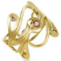Silver Vermeil Mari Splash Ring