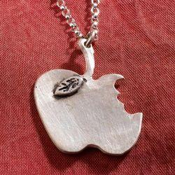 Eve's Apple Pendant