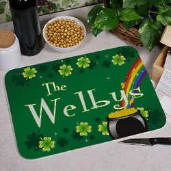 Personalized Irish Cutting Board