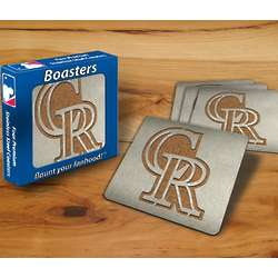 Colorado Rockies Boaster Coasters