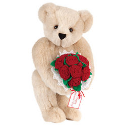 Red Rose Bouquet Teddy Bear