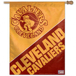 Cleveland Cavaliers Throwback Vertical Flag