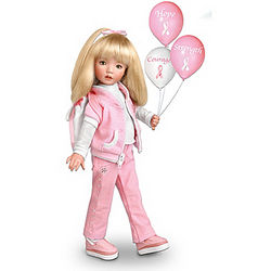 Walk for the Cause Breast Cancer Awareness Doll