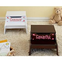 Personalized Step N Store Stool