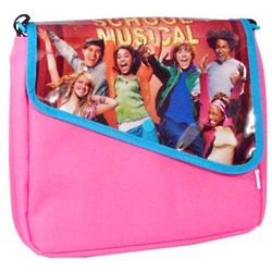 High School Musical Pink Messenger Style Lunch Bag