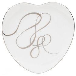 Love Story Heart-Shaped Salad Plate