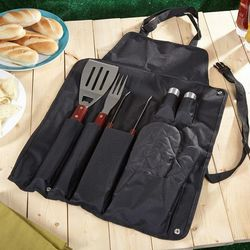 Mobile Grilling Accessories and Apron