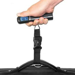 Blue-Lit Portable Digital Luggage Scale
