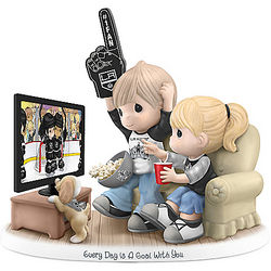 Every Day Is a Goal with You Los Angeles Kings Figurine