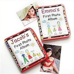Personalized Baby's First Photo Album