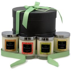 Premium Organic Candle Gift Collection for the Fall